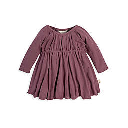 Burt's Bees Baby® Pointelle Organic Cotton Bubble Dress in Purple