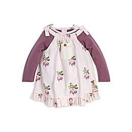 Burt's Bees Baby® 2-Piece Farm Fresh Beets Organic Cotton Dress and Bodysuit Set