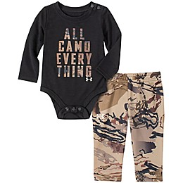 Under Armour® 2-Piece All Camo Everything Bodysuit and Pant Set