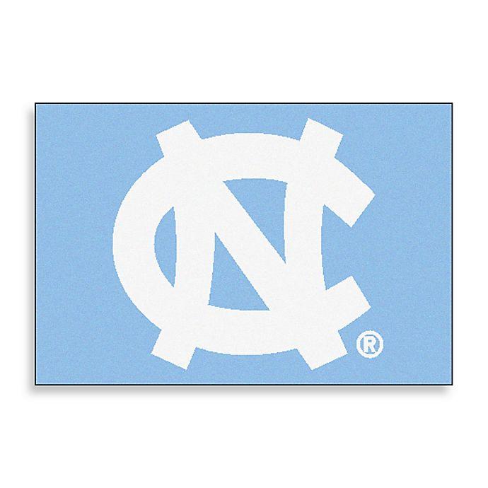 Alternate image 1 for University of North Carolina Floor Mat in Blue