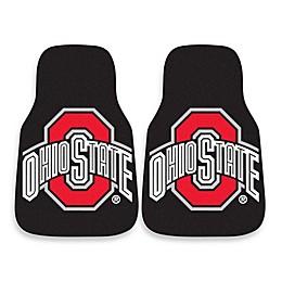 Ohio State University Carpeted Car Mats (Set of 2)