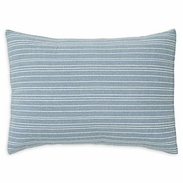 ED Ellen DeGeneres Riverside Oblong Throw Pillow in Dusty Blue
