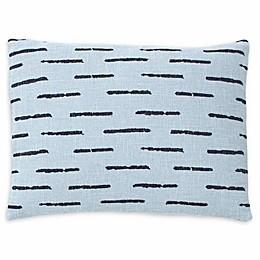 ED Ellen DeGeneres™ Riverside Oblong Throw Pillow in Dusty Blue