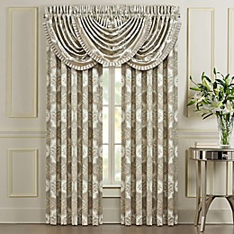 J. Queen New York™ Clearwater Rod Pocket Window Curtain Panel Pair in Spa