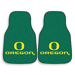 University of Oregon Carpeted Car Mats (Set of 2)