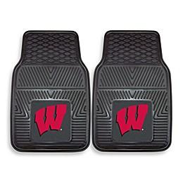 University of Wisconsin Car Mat (Set of 2)