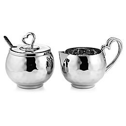 Mary Jurek Design Love 2-Piece Sugar Bowl and Creamer Set