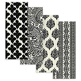Elrene Everyday Casual Assorted Kitchen Towel (Set of 4)