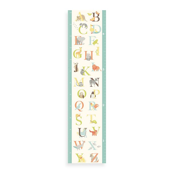 Wallpops Abc Jungle Growth Chart Buybuy Baby