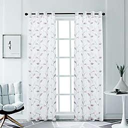 Clarita 54-Inch Grommet Window Curtain Panel (Single)