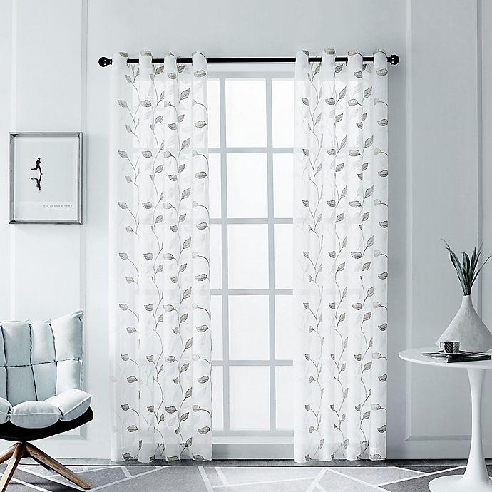 Alternate image 1 for Clarita Grommet Window Curtain Panel (Single)
