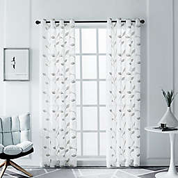 Clarita Grommet Window Curtain Panel