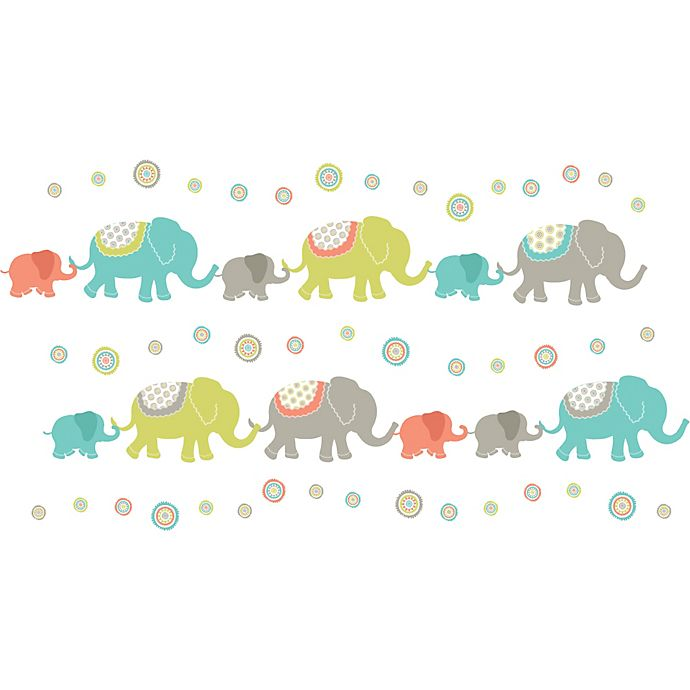 Alternate image 1 for WallPops!® Tag Along Art Kit in Elephant