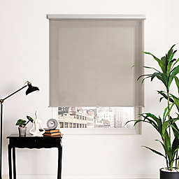 Brielle Loose Weave Cordless 66-Inch Length Roller Shade