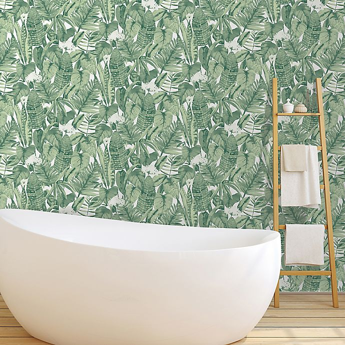 Tempaper Tropical Peel And Stick Wallpaper Bed Bath Beyond
