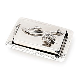Classic Touch Tervy Floral Match Box