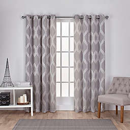 Montrose 2-Pack 108-Inch Grommet Window Curtain in Ash Grey