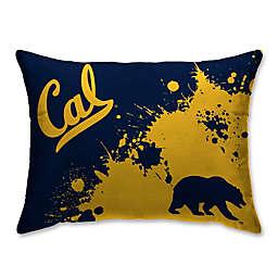 University of California, Berkeley Splatter Print Microfiber Bed Pillow