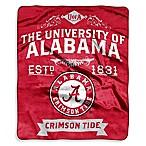 University of Alabama Raschel Throw