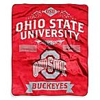 Ohio State University Raschel Throw