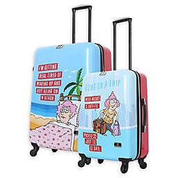 Halina Aunty Acid Spinner Suitcases