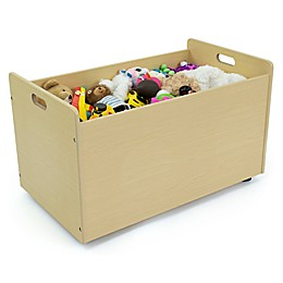 Humble Crew® Toy Box with Wheels