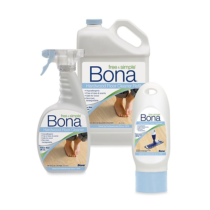 Alternate image 1 for Bona® Free & Simple Hardwood Floor Cleaner