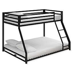 Mason Twin Over Full Metal Bunk Bed in Black