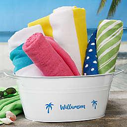 Summer Fun Personalized Beverage Tub