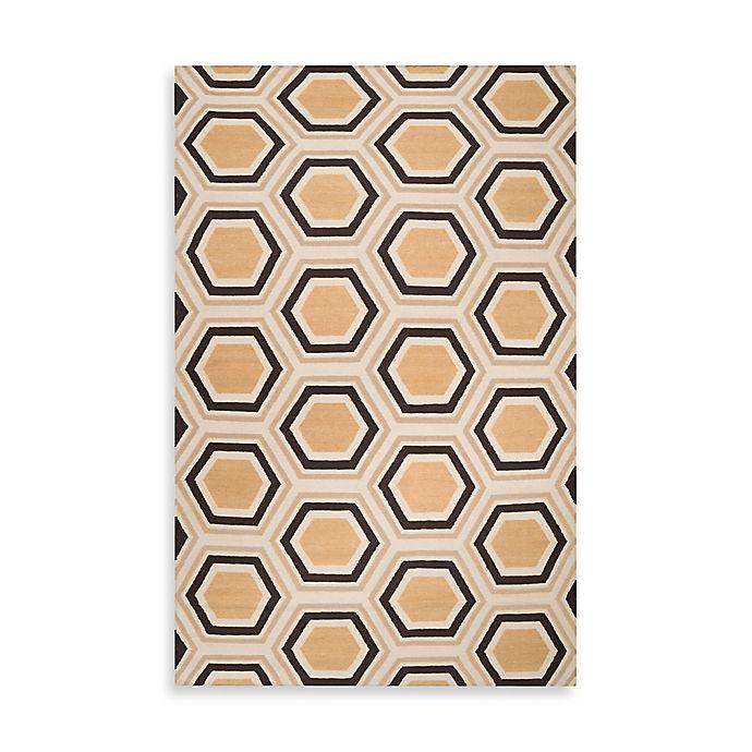 Alternate image 1 for Surya Andrews Honeycomb Rug 8-Foot x 11-Foot in Black
