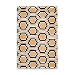Jill Rosenwald Andrews 2' x 3' Accent Rug in Cream/Butter