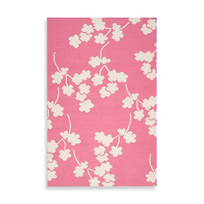 Alternate image 1 for Surya Atlanta Floral Rug in Flamingo Pink