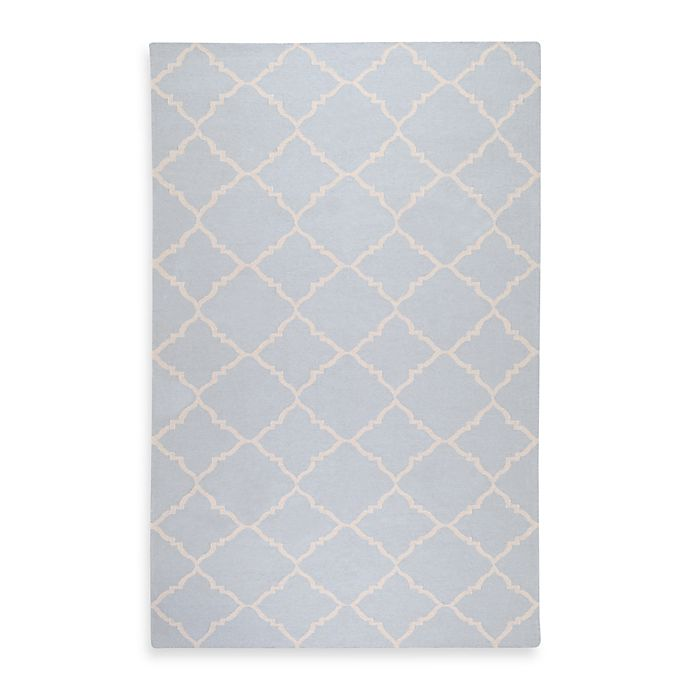 Alternate image 1 for Surya Winslow Rug in Pale Blue/Ivory
