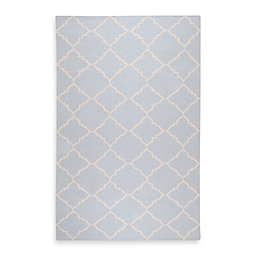 Surya Winslow 5-Foot x 8-Foot Rug in Pale Blue/Ivory