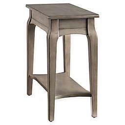 Leick Home® Narrow End Table in Smoke Grey