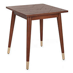 O&O by Olivia & Oliver™ Chevron End Table in Walnut