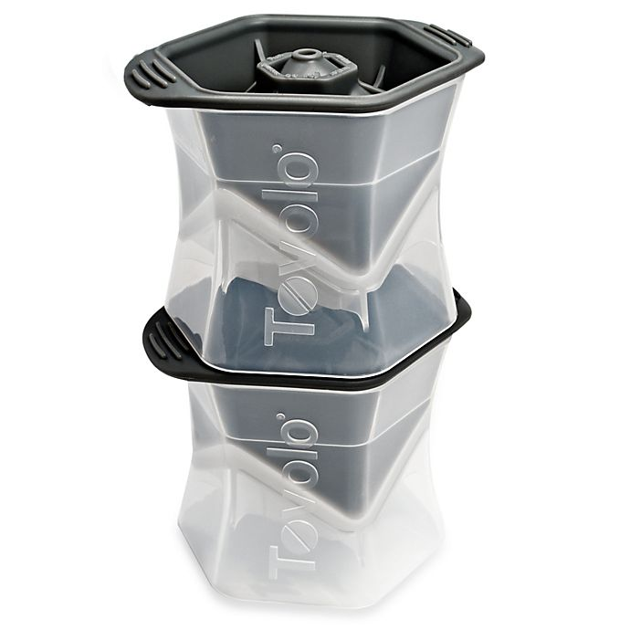 Alternate image 1 for Tovolo® Colossal Cube Ice Mold (Set of 2)