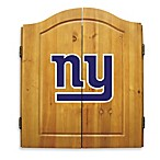 NFL New York Giants Dartboard and Cabinet Set