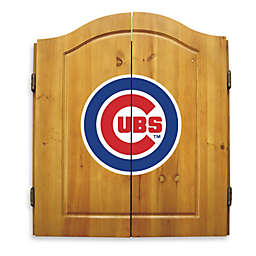 MLB Chicago Cubs Dartboard and Cabinet Set