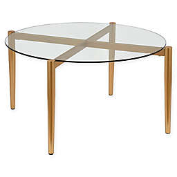 Hudson&canal™ Kadmos Coffee Table in Gold