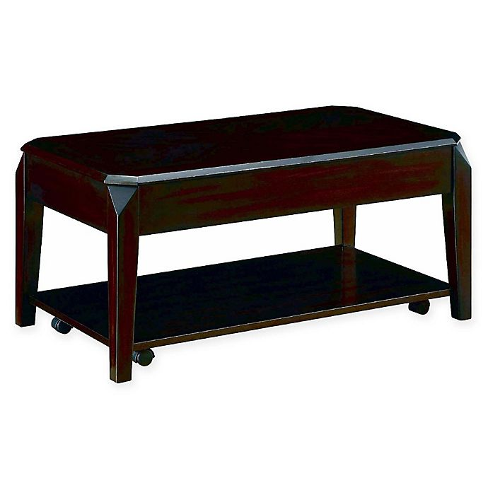 Alternate image 1 for Trenton Lift-Top Coffee Table in Walnut