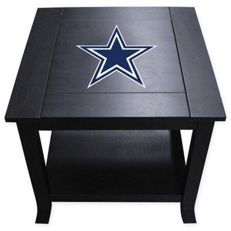 Nfl Dallas Cowboys Side Table Bed Bath Amp Beyond