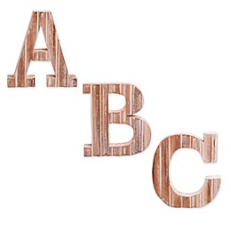 Bee & Willow™ Home Monogram White Wood Letter Wall Art Collection
