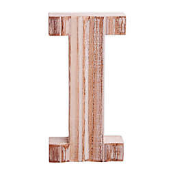 "Bee & Willow™ Home Monogram 6-Inch x 8-Inch Wood Letter ""I"" Wall Art in White"