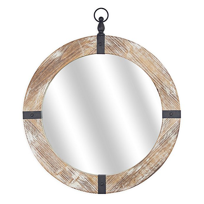 Masterpiece Art Gallery 28 Inch X 24 Round Wood And