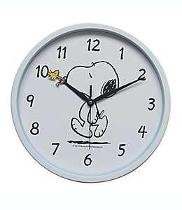Reloj de pared de Snoopy Peanuts™ en blanco