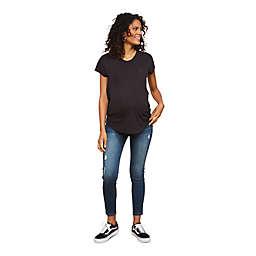 Motherhood Maternity® Side Panel Skinny Leg Maternity Jeans in Medium Wash