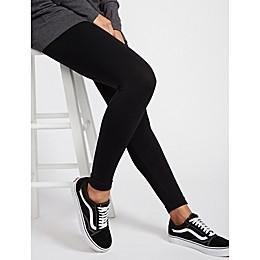 Motherhood Maternity® BOUNCEBACK Seamless Compression Leggings in Black