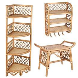 Global Caravan™ Rattan Bath Furniture Collection