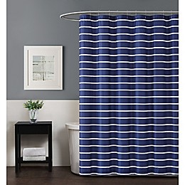 Truly Soft Maddow Stripe Standard Shower Curtain